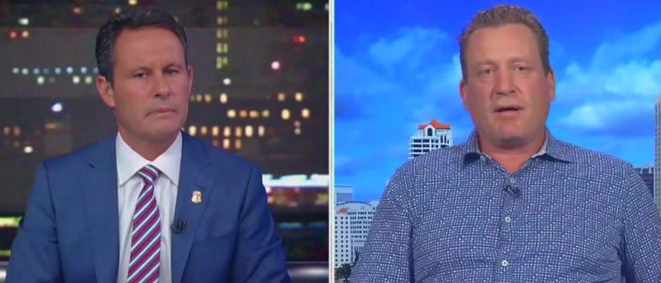 Jeremy Roenick knocks kneeling (Fox News screengrab)
