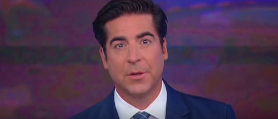 Jesse Watters talks about Cannon Hinnant shooting (Fox News screengrab)