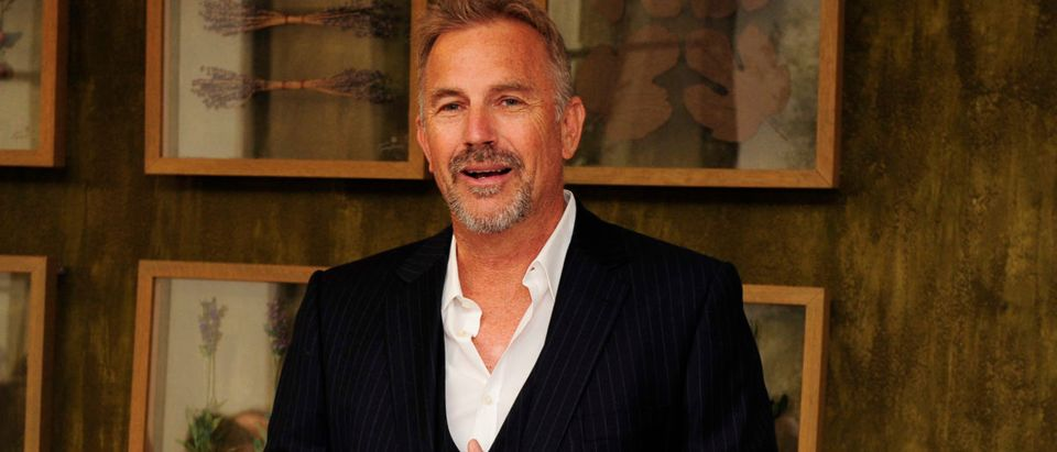 Colleen Camp Hosts Special Luncheon For Kevin Costner And Mike Binder For The Film BLACK OR WHITE