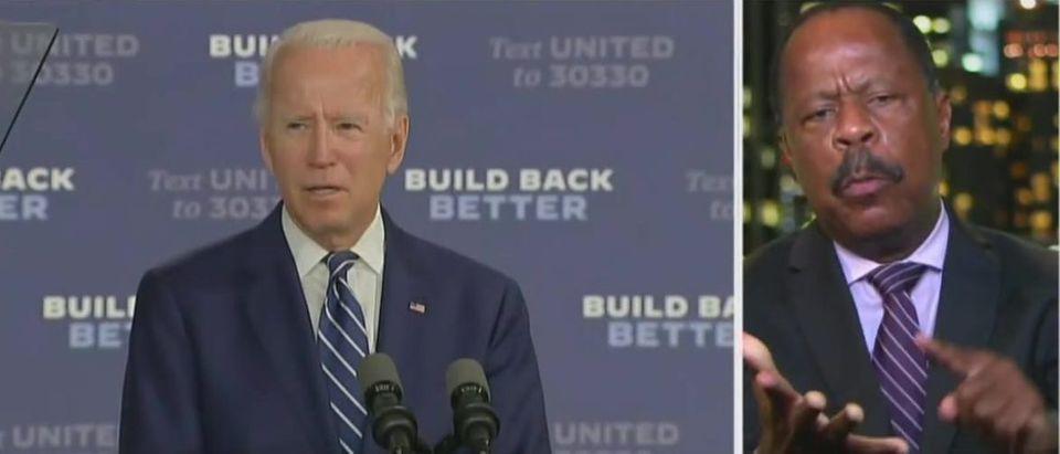 Leo Terrell says Biden has plantation owner mindset (Fox News screengrab)