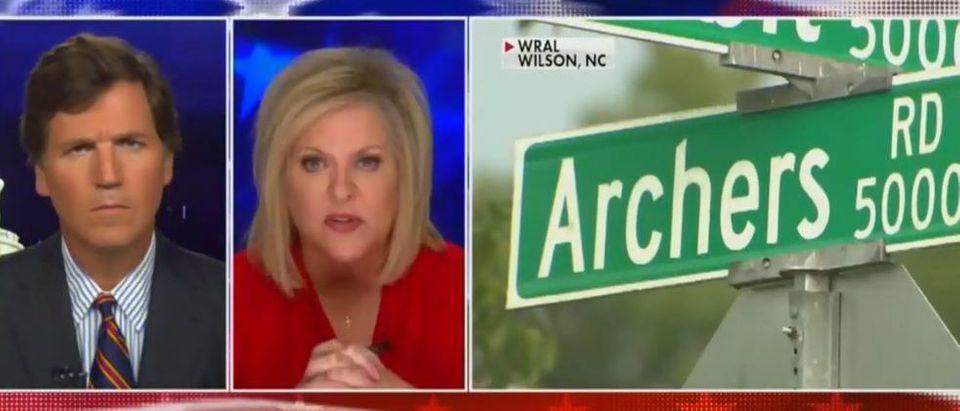Nancy Grace discusses media coverage of killing (Fox News screengrab)