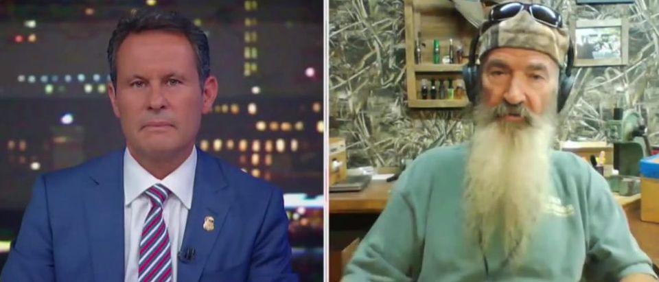 Phil Robertson discusses meetings with Trump (Fox News screengrab)