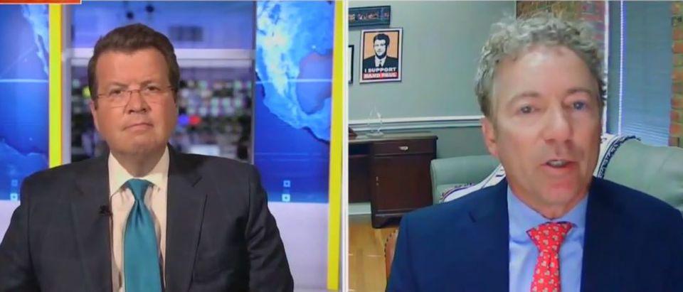 Rand Paul discusses economy if Democrats win (Fox News screengrab)