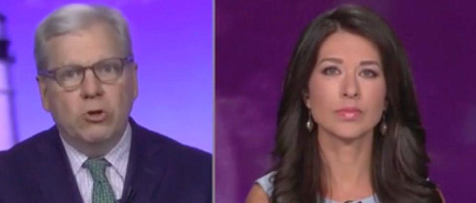 "Joe Lockhart appears on ""CNN Newsroom"" with Ana Cabrera. Screenshot/CNN"