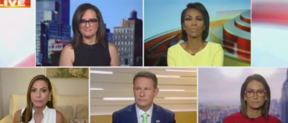 Panel discussion addresses Black Lives Matter protests. Screenshot/Fox News