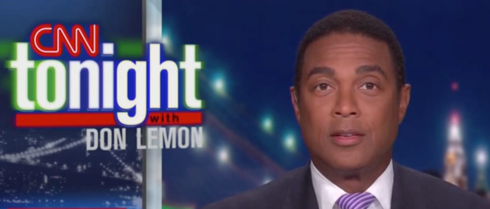 Don Lemon condemned Trump after the president floated a false theory about Kamala Harris. (Screenshot CNN)