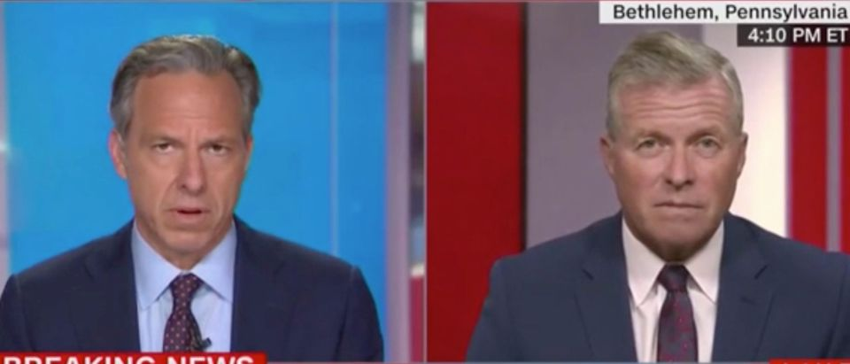 """Jake Tapper and Charlie Dent appear on """"The Lead."""" Screenshot/CNN"""