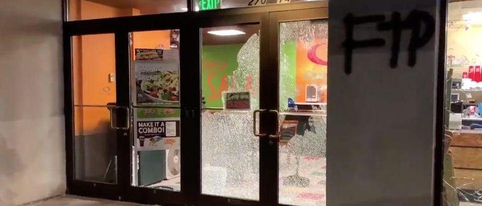 Denver Riot Quiznos