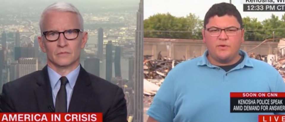 Zach Rodriguez With Anderson Cooper Thursday On CNN