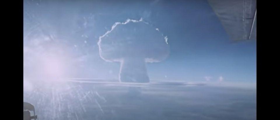 Tsar Bomba footage 1961