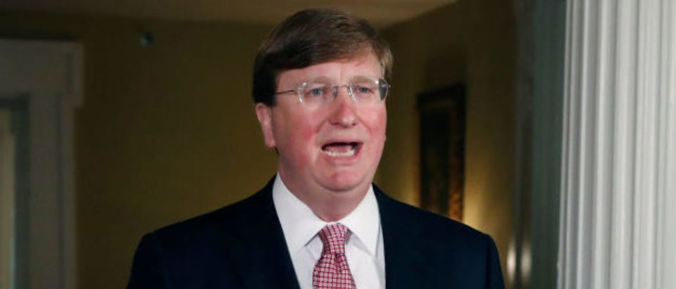 Tate Reeves (Photo by ROGELIO V. SOLIS/POOL/AFP via Getty Images)