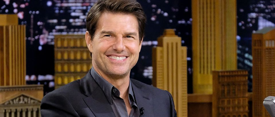 """Tom Cruise And Parker Posey Visit """"The Tonight Show Starring Jimmy Fallon"""""""