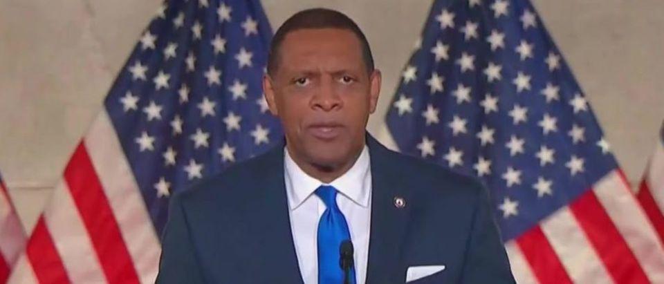 Vernon Jones speaks at RNC (MSNBC screengrab)