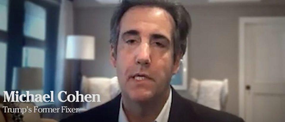 Michael Cohen (YouTube screen capture/American Bridge)