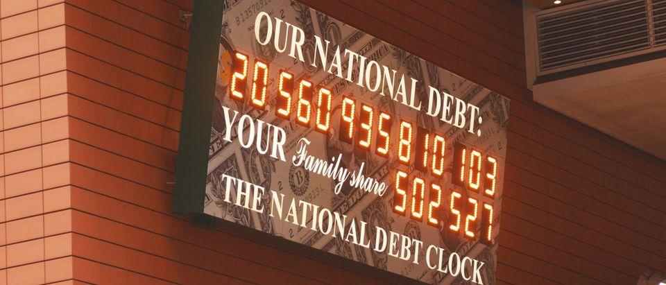 National debt (Studio 72/Shutterstock)