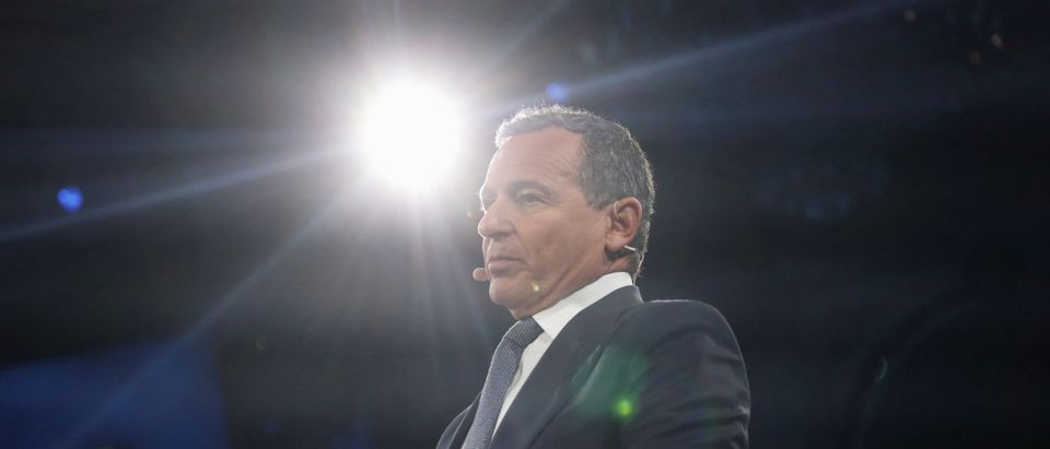 Disney's Chief Executive Officer Bob Iger speaks during the Bloomberg Global Business Forum in New York City