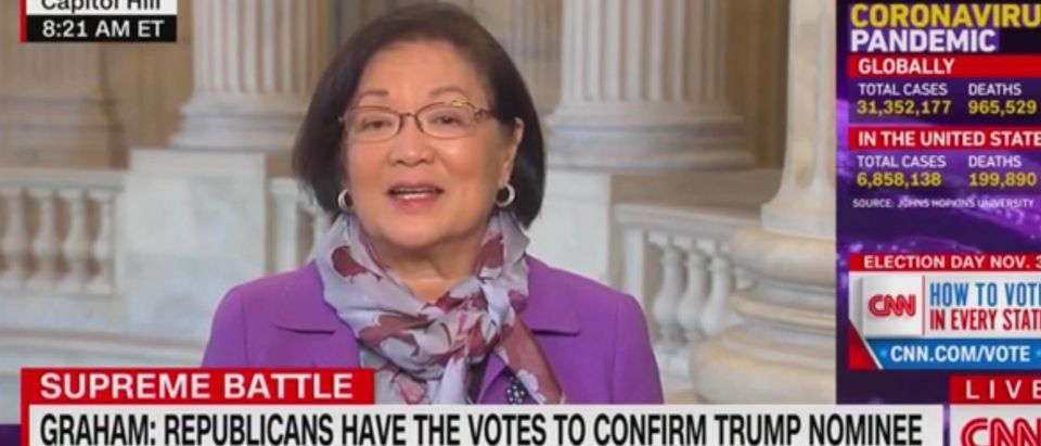 Senator Mazie Hirono (D-Hawaii)