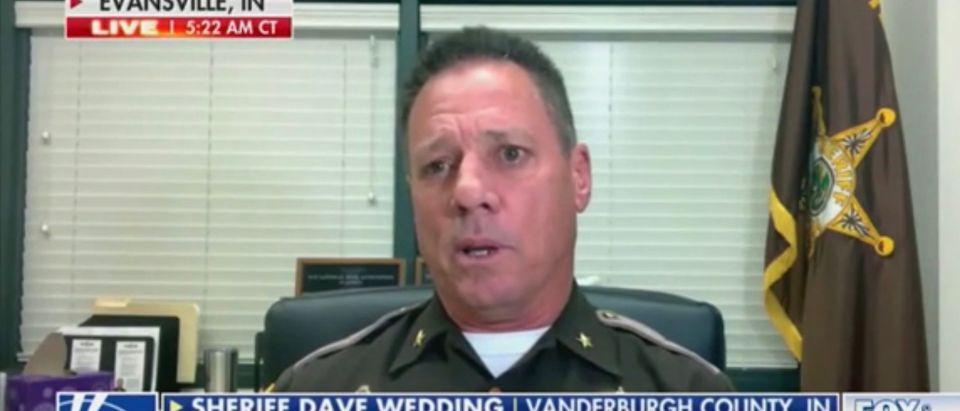 Sheriff Dave Wedding