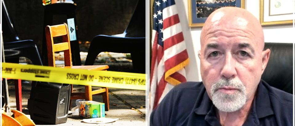 Former NYPD Commissioner Bernard Kerik speaks with the Daily Caller
