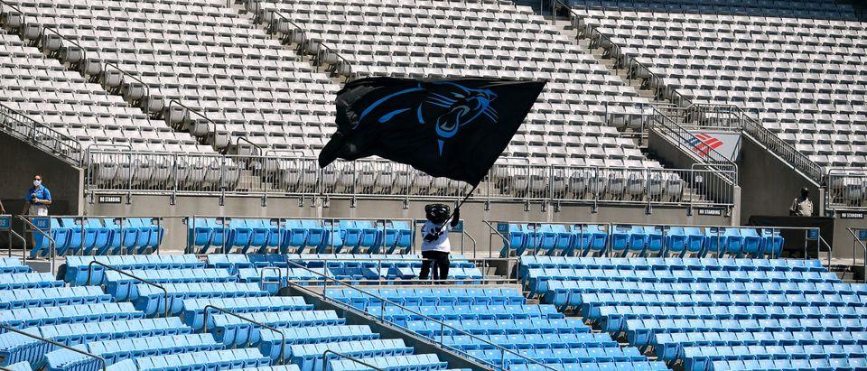 Carolina Panthers Empty Stadium vs. Las Vegas Raiders