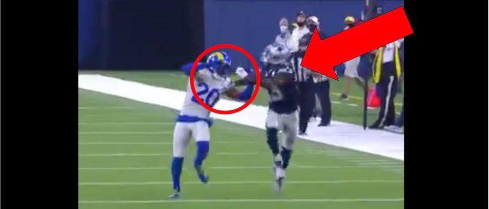 Dallas Cowboys (Credit: Screenshot/Twitter Video https://twitter.com/whatgoingdowney/status/1305345157299081216)