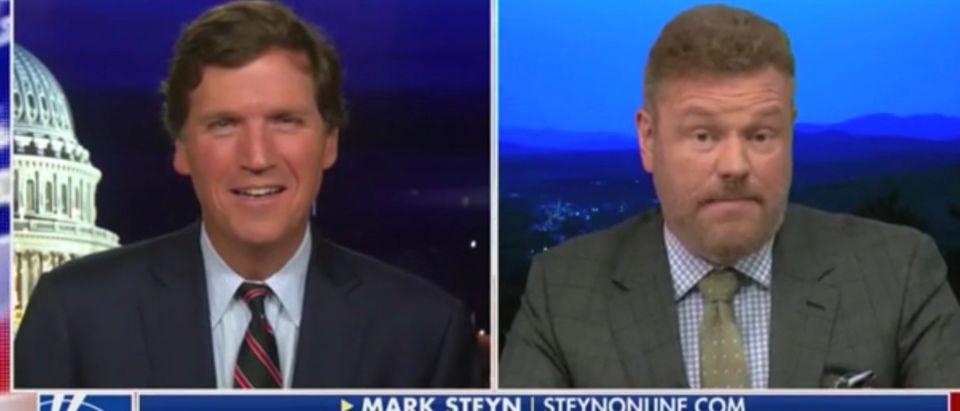 Tucker Carlson and Mark Steyn