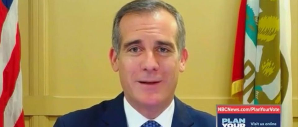 Los Angeles Mayor Eric Garcetti (D)