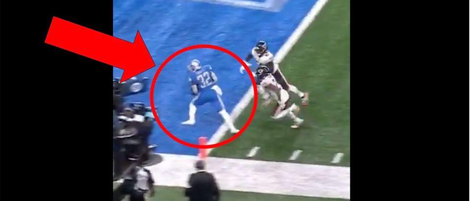Detroit Lions (Credit: Screenshot/Twitter Video https://twitter.com/MySportsUpdate/status/1305239646193029123)