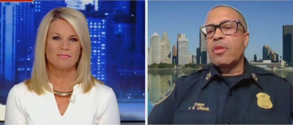 Detroit Police Chief blasts Ed Markey (Fox News screengrab)