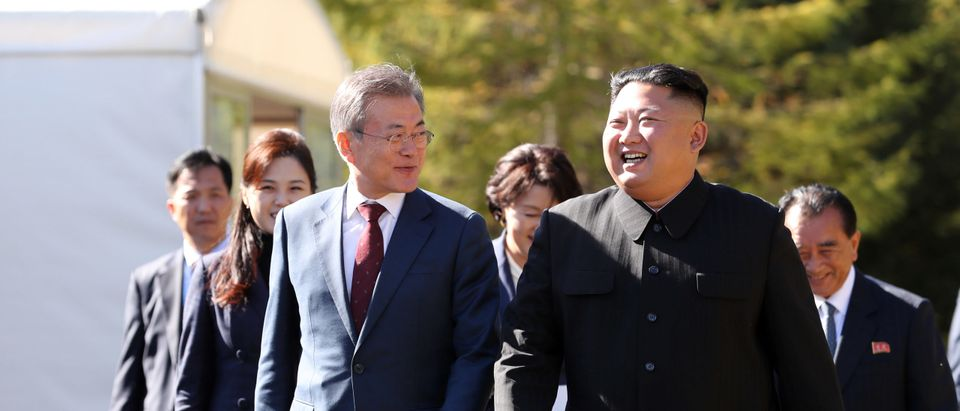 North And South Korean Leaders Meet For Third Summit It Pyonyang