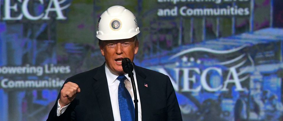 President Trump Addresses National Electrical Contractors Convention