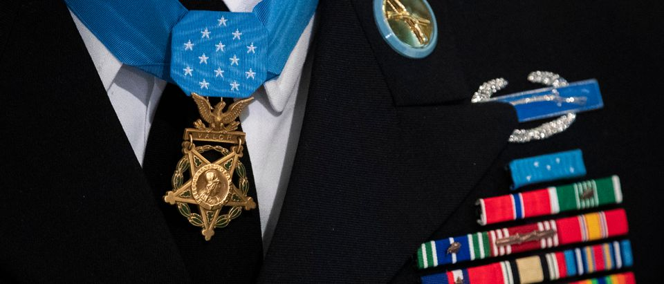 Medal Of Honor Recipient SSG David Bellavia (Ret.) Rings Opening Bell At NYSE