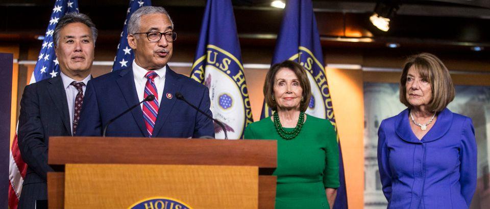 Nancy Pelosi and Rep. Bobby Scott