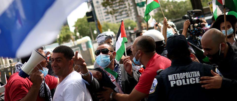 Protest Held Outside White House Against Israel