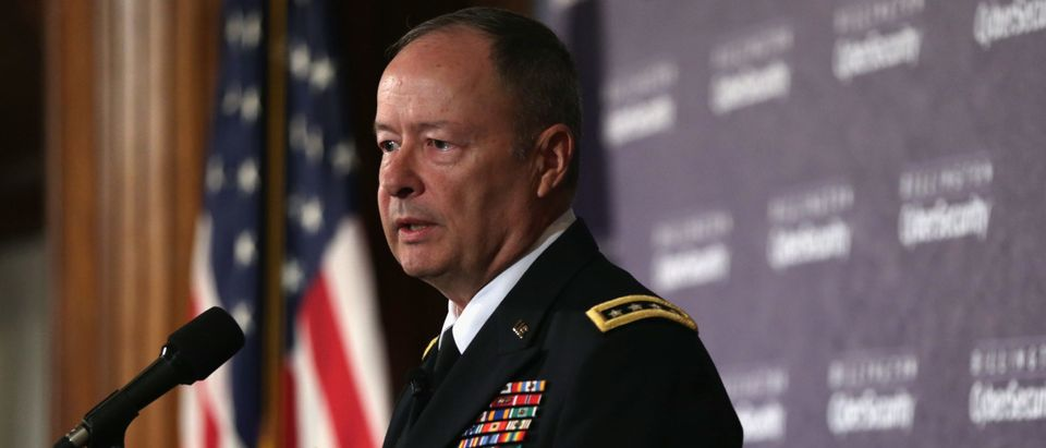 NSA Director Gen. Keith Alexander Speaks At Cybersecurity Summit