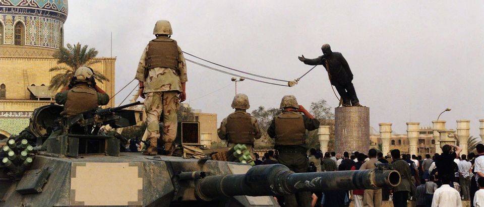 (FILE) The Third Anniversary Of The Fall Of Baghdad