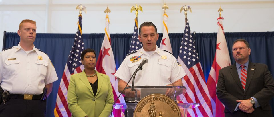 DC Mayor Bowser And Police Chief Newsham In 2017