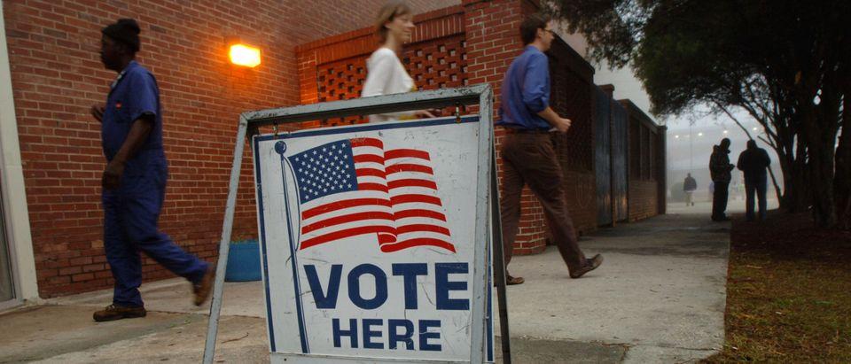 Voters Participate In Georgia's Super Tuesday Primary