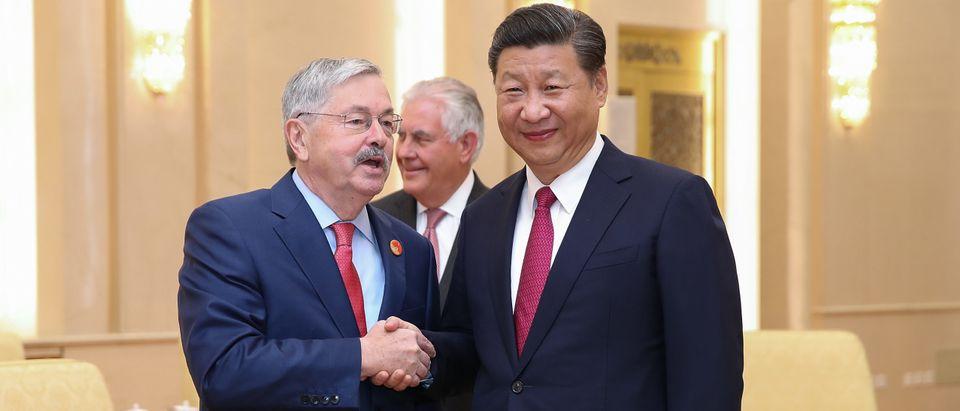U.S. Secretary Of State Rex Tillerson Visits China