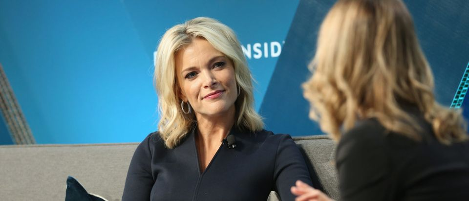 """Megyn Kelly, NBC News Anchor and host of """"Megyn Kelly Today"""" speaks onstage with Alyson Shontell at IGNITION: Future of Media at Time Warner Center on November 29, 2017 in New York City. (Monica Schipper/Getty Images)"""
