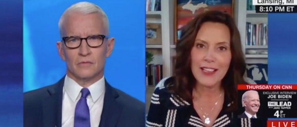 Gretchen Whitmer on CNN (CNN/Screenshot)