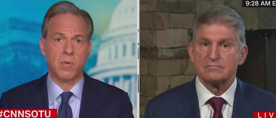 Joe Manchin will oppose court packing (CNN screengrab)