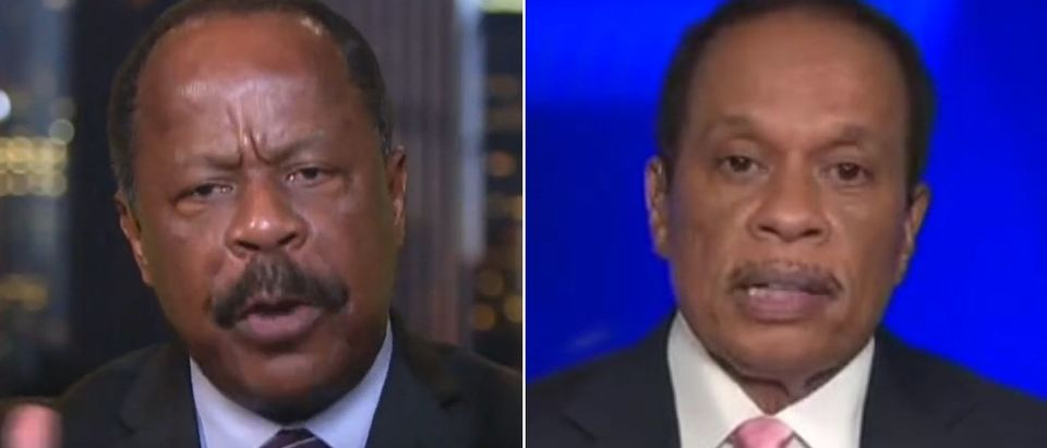 Leo Terrell blasts Juan Williams for op-ed (Fox News screengrabs)