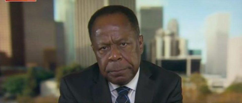 Leo Terrell defends Bill Barr (Fox News screengrab)
