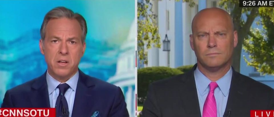 Marc Short spars with Jake Tapper over SCOTUS confirmation history (CNN screengrab)