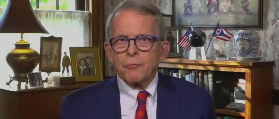Mike DeWine says sources should reveal themselves (ABC screengrab)