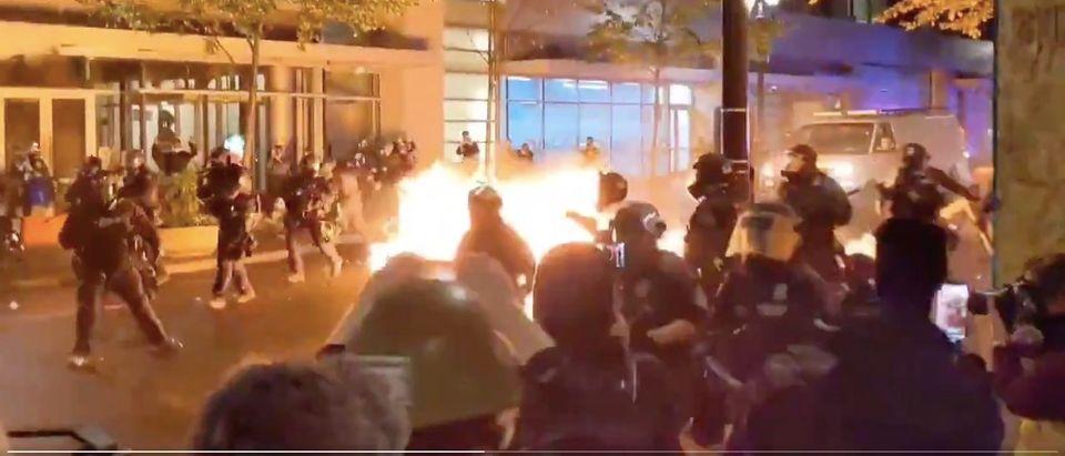 Portland molotov/PPB Blog