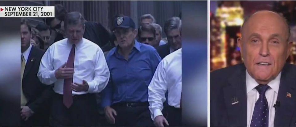 Rudy defends Trump coronavirus response (Fox News screengrab)