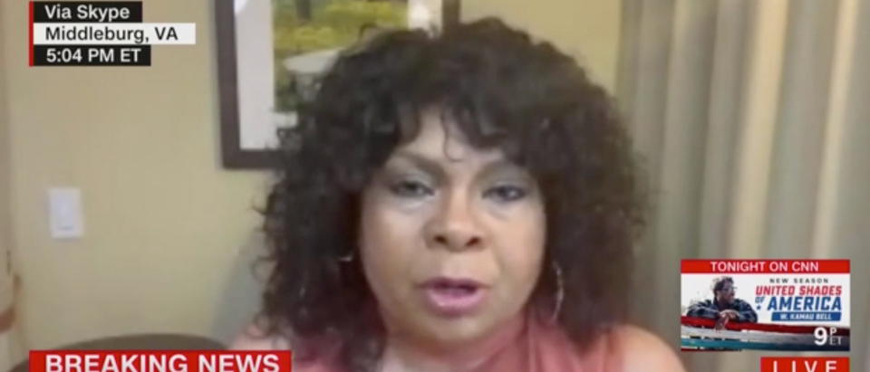 CNN analyst April Ryan suggested Trump should be prosecuted for starting a race war. (Screenshot CNN)