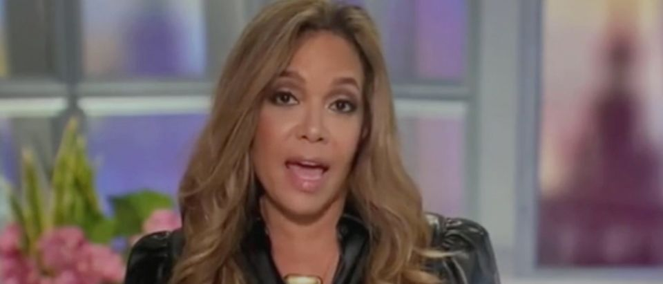 "Sunny Hostin appears on ""The View."" Screenshot/ABC"